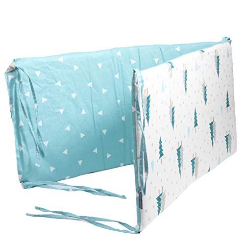 Garneck Wieg Bumpers Gewatteerde Bumper Beddengoed Bumper Kussen Baby Bed Hek Voor Pasgeboren Bed Kinderbed