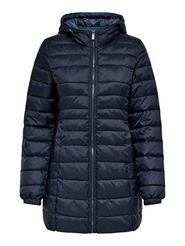 ONLY Female Steppjacke Lange XSNight Sky