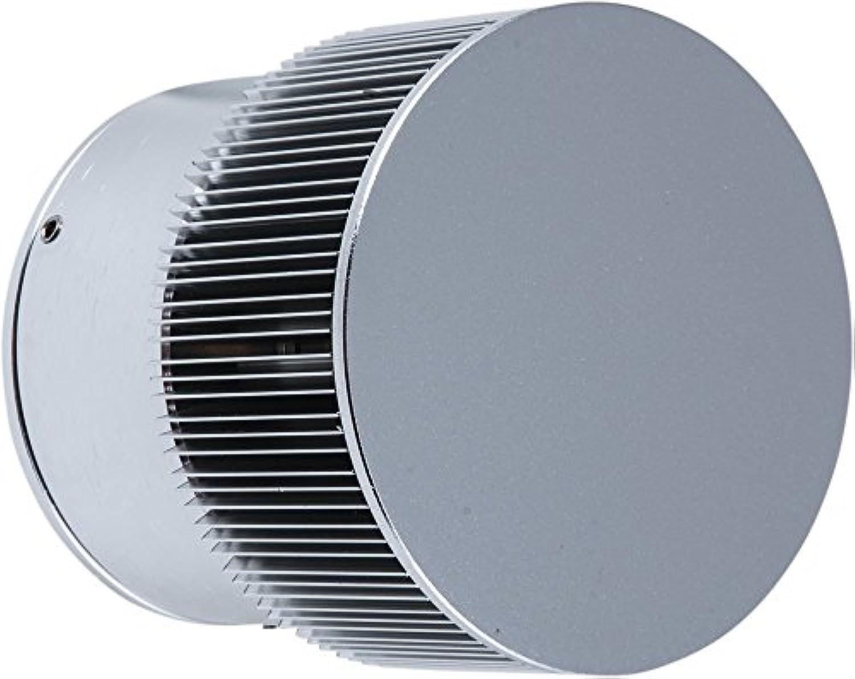 Heitronic LED Wandleuchte Corina Aluminium IP54  LEDs fest verbaut 5W  35343