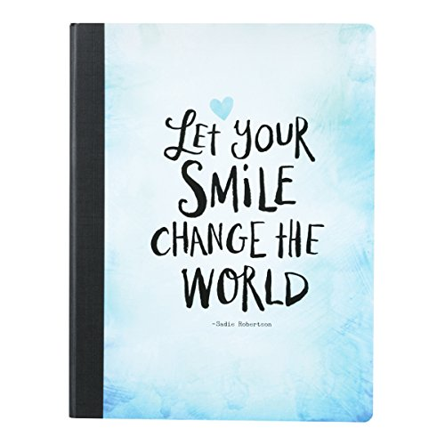 DaySpring Sadie Robertson's Composition Notebook, Let Your Smile Change the World