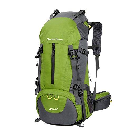 S D Mochila de Senderismo 45L   Paquete del Alpinismo Escalada Marcha Trekking Camping
