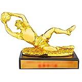 Trofeos de fútbol Premio de Portero excelente Personalizado Guante de Oro fútbol impresión Personalizada