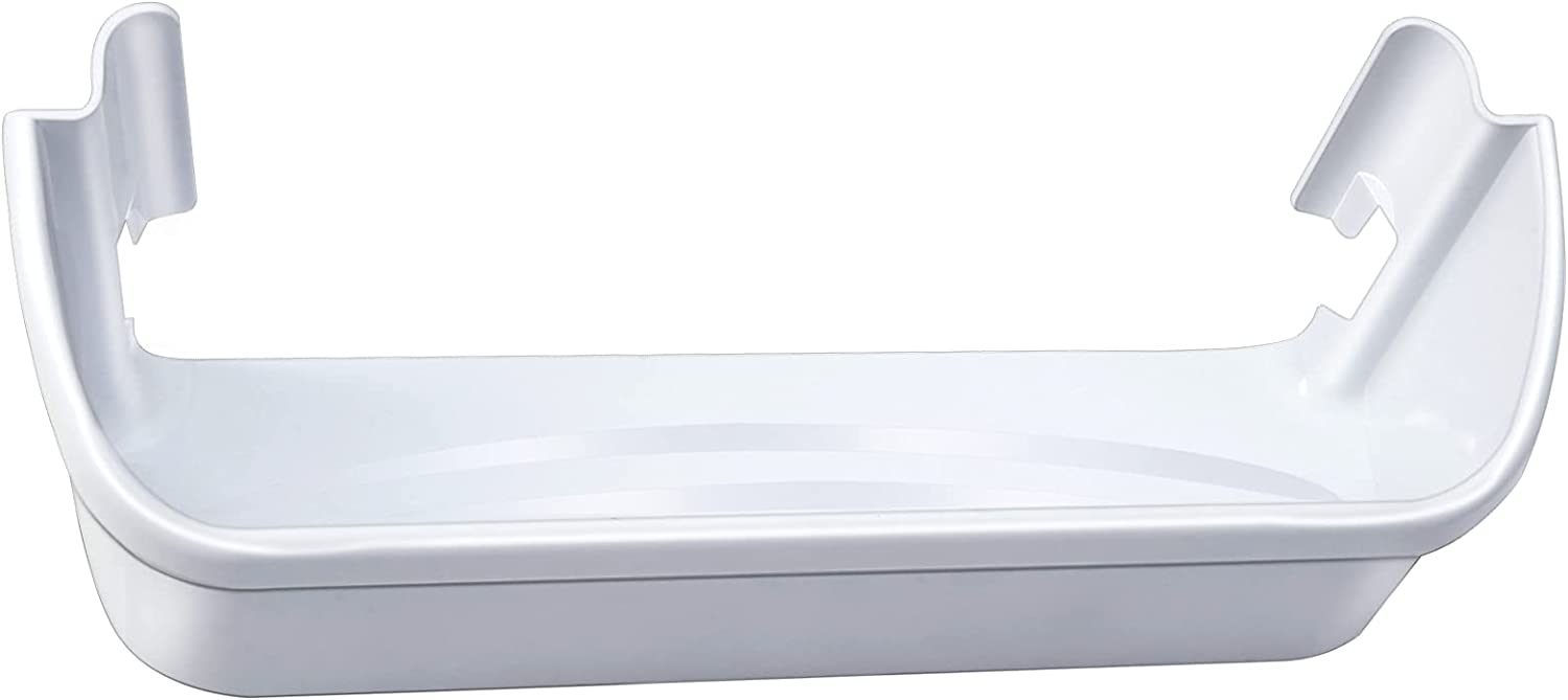 240323001 Refrigerator Door Bin Side Shelf Compatible with Frigidaire and Electrolux, Bottom 2 shelves, White, Single Unit, Replaces AP2115741, AH429724, EA429724, PS429724, 240323007, 890954