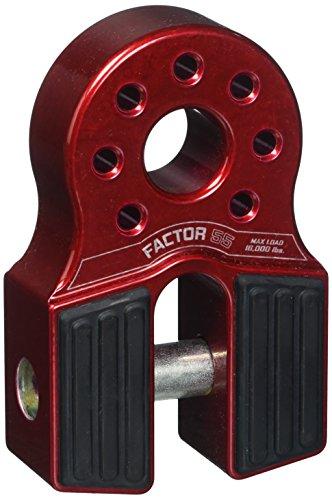 Factor 55 00050-01 FlatLink Winch Shackle Mount Assembly Red