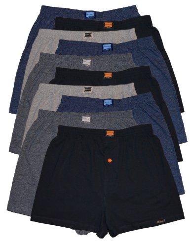 MioRalini 10 Boxershort Baumwolle Artikel: 4 Farben mit Eingriff, Groesse: 4XL-10