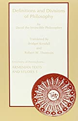 Definitions and Divisions of Philosophy by David the Invincible Philosopher: English Translation of the Old Armenian Version with Introduction and Notes