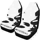 Feeling-Right Housses De Siège De Voiture Universelles 2Pc Traduction De Calligraphie Chinoise Ambition Rightside Protecteur De Siège Chinois Housses De Tapis De Voiture