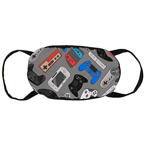 Stofvervuilingsmasker, Video Game Controller Gadgets, Zwart Oor Pure Katoen masker, Geschikt voor Mannen en Damesmaskers