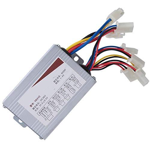 Keenso Controlador de Motor de Cepillo eléctrico, Scooter eléctrico Triciclo Controlador de...