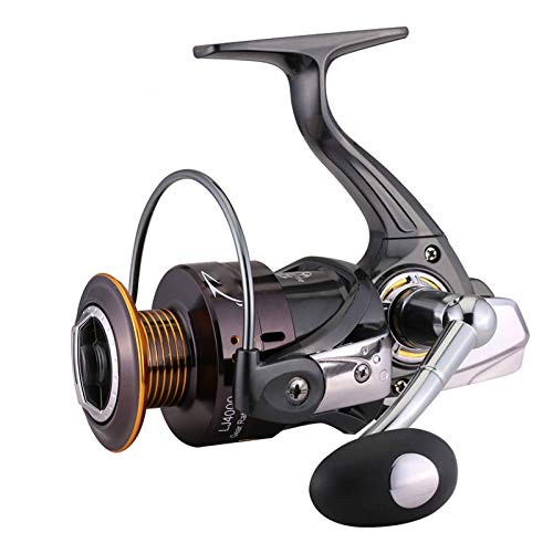 AIWKR Carrete De Pesca,Ligero,Ultra Suave,Potente,para Pesca Agua Salada De Agua Dulce
