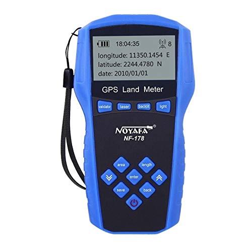 HEQIE-YONGP Productos científicos portátiles NF-178 GPS de Mano Profesional Equipo de Prueba de Alta precisión Tierra topógrafo Instrumento de medición Metro