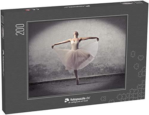 Puzzle 200 Teile Wunderschöner Ballerina-Tanz - Klassische Puzzle, 1000 / 200 / 2000 Teile, edle Motiv-Schachtel, Fotopuzzle-Kollektion 'Kunst'