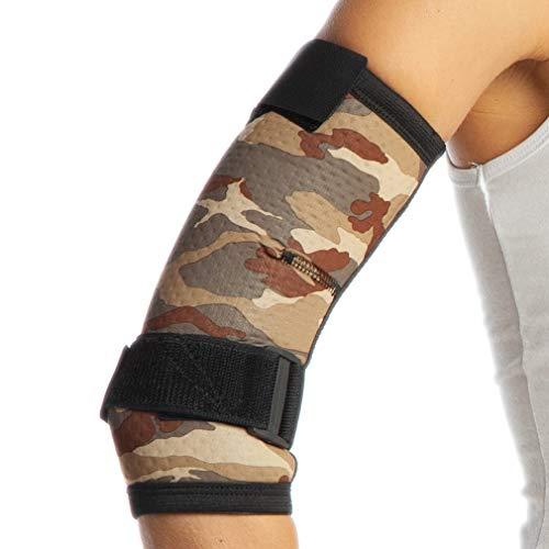 Camouflage - Codera de tenis, brazo izquierdo derecha, brazo de gimnasio, Epicondylis,...