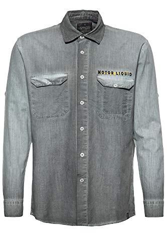 King Kerosin Motor Liquid Camisa para Hombre