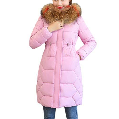 SHANGYI dames winterjas met capuchon warm lange dik katoen slanke mantel mantel winter vrouwelijk elegant