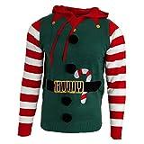 Brave Soul - Jersey navideño Modelo Jingles para Hombre (S) (Verde Botella (Elfo))