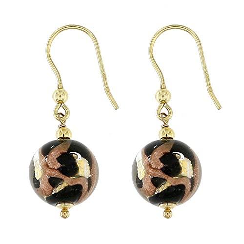 Venetiaurum - Offerta Orecchini per donna con perle in vetro originale di Murano e argento 925 anallergico - Gioiello made in Italy certificato