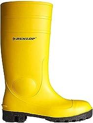 Dunlop Protective Footwear Unisex-Erwachsene Protomastor Full Safety Gummistiefel, Gelb, 45 EU