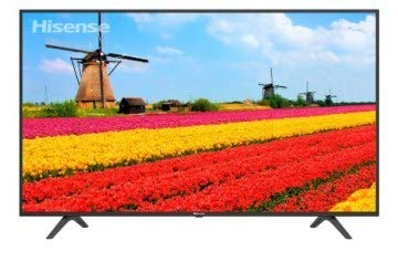 "Hisense 43H6F Pantalla Smart TV WiFi LED 43"", 3840 x 2160 Pixeles, Ultra HD, 4K, HDMI USB, Color Negro 2019"