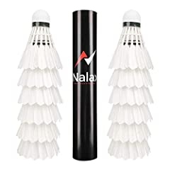 Badminton-Federbälle