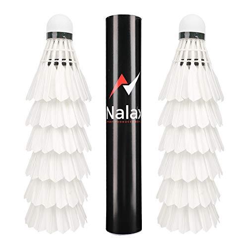 Nalax Badminton-Federbälle Bild