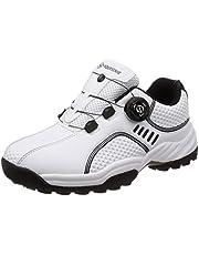 [フォーセンス] ゴルフ スパイクレス ダイヤルシューズ スポーツシューズ トレッキングシューズ 登山靴 メンズ スピンオン