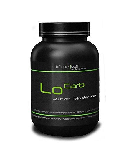 LoCarb, 500 Tabletten, pflanzliche Kohlenhydratblocker von KörperKult