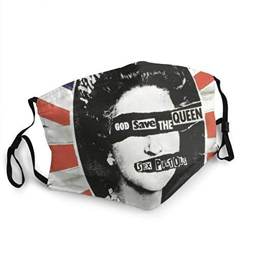 Sex Pistols God Save The Face Co_V-Er - Protector bucal con clip para la...