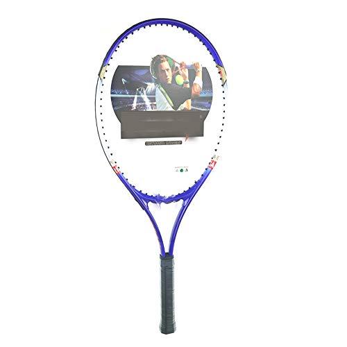 JDDSA Raqueta de Tenis Super Ligera Raqueta de Entrenamiento de Tenis Junior para Niños Comienzo Entrenamiento Práctica - 1 Bolsa de Transporte Incluida