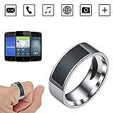 KOBWA NFC Smart Ring Multifunktionaler Wasserdichter Intelligenter Ring Digital Ring Smart Zubehör...