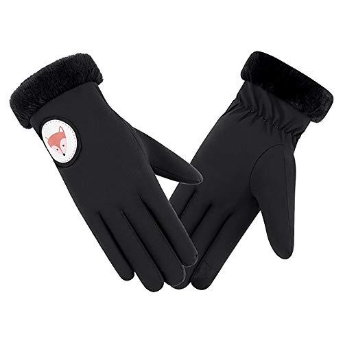 OSYARD Damen Handschuhe Winterhandschuhe Smartphone Touch Screen Fäustlinge Winter Warme Gloves für Outdoor Sport, Frauen Winddicht Wasserdicht Fahrrad Rutschfeste Plus Samt Verdickungs Handschuhe