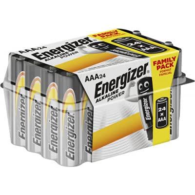 Energizer Alkaline Power - Pack de 24 pilas Alcalinas AAA/LR03