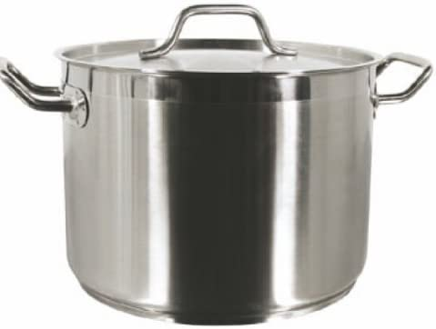 20 QT STAINLESS STEEL STOCK POT Be super welcome COMMERCIAL NSF LID GRADE All items free shipping W