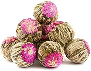 Jasmine Blooming Flower Tea Balls - Anti aging - Filled with antioxidants to relieve stress and invigorate youthfulness. -...