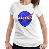 Cloud City 7 Aliens Space Program NASA Women's T-Shirt