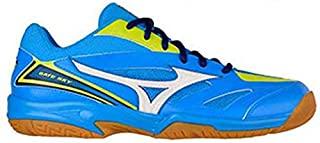 Mizuno Gate Sky Blue Aster/White/LIM Non Marking Badminton Shoes