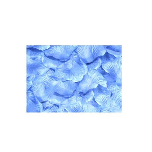 Broadfashion Pétales décoratives pour fêtes et mariage Choix de couleur - bleu ciel