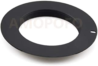 Compatible with for Leica L39 M39 39mm Mount Lens to& for Canon EOS 5D Mark III, 5D Mark II, 1Ds Mark [IV/III/II/I ], 1D Mark 6D, 5D, 7D, 70D, 60D, 50D, 40D, 30D, 100D, 700D, 650D, 600D, 550D, 5