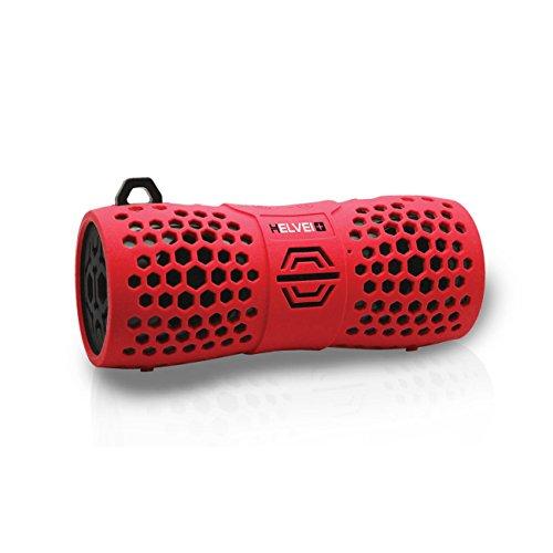 Helvei Audio IP67 Sport Waterproof EXTREME Schwimmender Lautsprecher - Schwarz/Rot