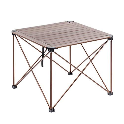 Fold Away Table - Mesa plegable GR Mesa portátil, mesa plegable ultrapequeña para exteriores, mesa de picnic, mesa de barbacoa, mesa de centro, tamaño multicolor opcional (mesa de camping portátil