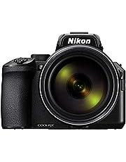 Nikon COOLPIX P950 Bridge camera - 16 MP DX-formaat sensor - 83x zoom, groot zoombereik - Elektronische zoeker - 4K video - Reis, maan en vogel fotografie - VQA100EA