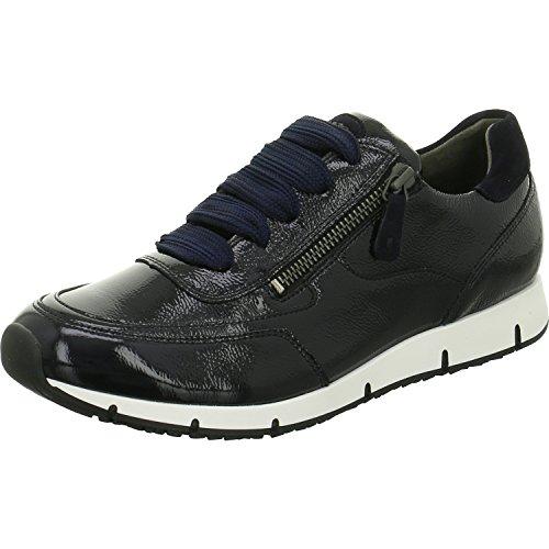 Paul Green Damen Schnuerschuhe Schuhe Sneakers blau Lack 4560 4560-011 blau 294407