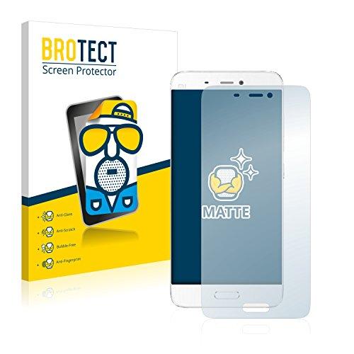 BROTECT 2X Entspiegelungs-Schutzfolie kompatibel mit Xiaomi Mi5 Bildschirmschutz-Folie Matt, Anti-Reflex, Anti-Fingerprint