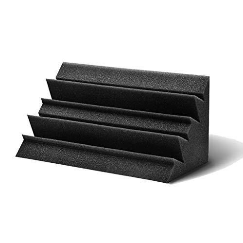 Z-XIYIN Decken schallabsorbierende Baumwolle, Brandschutz Acoustic Panels Bar Klassenzimmer Pro Akustikschaum Bass Traps Studio Sound-Behandlung (Size : 12 * 12 * 24CM)