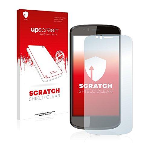 upscreen Schutzfolie kompatibel mit Archos 50 Cesium – Kristallklar, Kratzschutz, Anti-Fingerprint