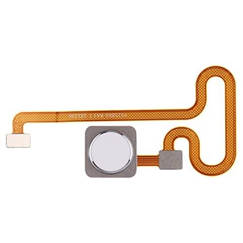 Repuesto Xiaomi Sensor de Huellas Dactilares Flex Cable for Xiaomi MI Mix 2S Repuesto Xiaomi (Color : Blanco)