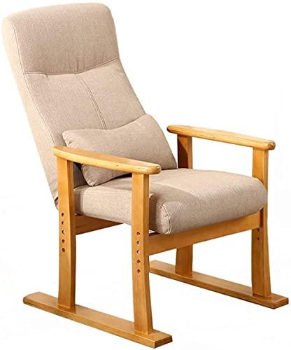 Sillón reclinable para sofá o sillones ajustables de tela con asiento acolchado para un solo sofá relajante, silla de ocio, silla de juegos para el hogar, oficina, sillón reclinable, sillón o cama