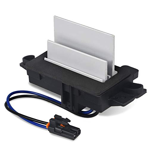 WMPHE Compatible with Upgraded Design Heating and Air Conditioning Blower Motor Resistor Buick Cadillac Chevy GMC Replaces OE# 4P1516, 4P1595, 2-BMR34, 15-80567, 53-69738,AC Blower Control Module