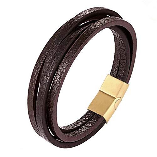 Resize Service for Braided Leather Fingerprint Bracelet