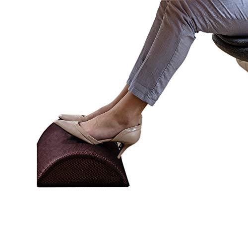 Urbo Milou reposapies ergonomico para el Alivio de Fascitis Plantar, ciatica, Venas varicosas, Varices, Dolor en el talon, tambien Ayuda a aliviar el Dolor de pies y la trombosis venosa Profunda